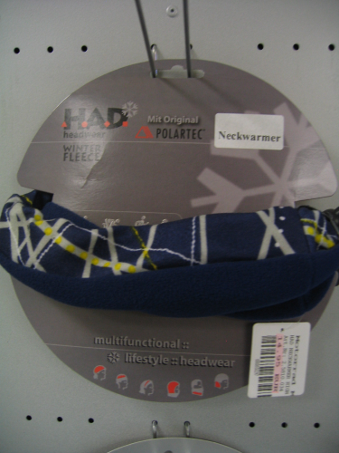 H.A.D.® Fleece Neckwarmer High Tension Blue